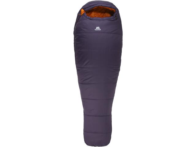 Mountain Equipment Starlight II Sacos de dormir Normal, aubergine / blaze